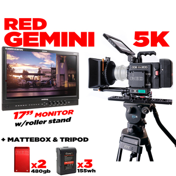 "Rent RED Gemini 5K Base Pkg +17"" FLANDERS & Roller"