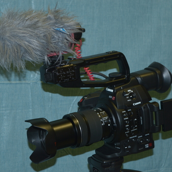 Rent Canon EOS C100 mark ii with Canon EFS 18-135mm lens