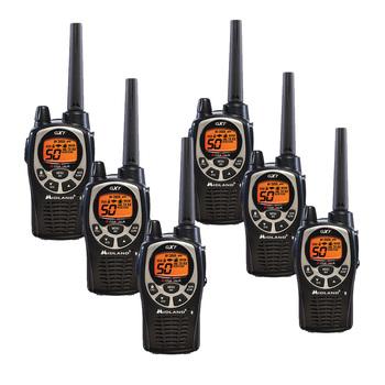 Rent Midland GXT1000P x6 Radio Kit