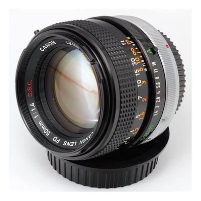 Sale canon fd 50mm f14 ssc prime lens 910 1536485109 5c4d54f3