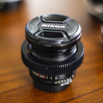 Rent Nikon Nikkor Vintage Prime Lens Set