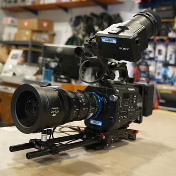 Rent Sony PXW-FS7M2 XDCAM w/ Fujinon 20-120 Lens Kit