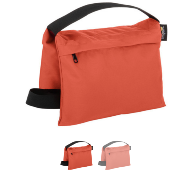 Rent Impact Saddle Sandbag -15 lb (Orange Cordura, Set of 6)