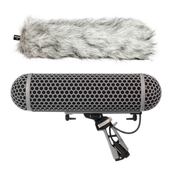 Rent Rode Blimp Windshield and Rycote Shock Mount Suspension System