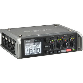 Rent Zoom F4 Multitrack Field Recorder with Timecode - 6 Inputs / 8 Tracks