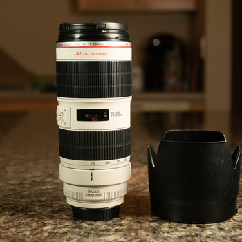 Rent Canon 70-200mm f/2.8 IS II Zoom Lens