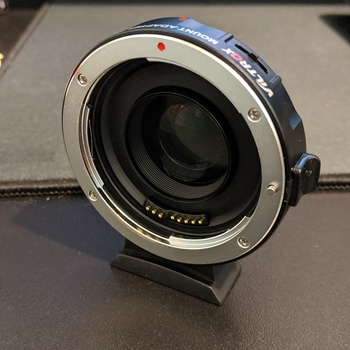 Rent Viltrox EF-M2 Lens Mount Adapter for Canon Eos EF Lens to Micro Four Thirds