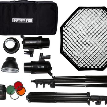 Rent Full Godox SL 60w  lighting kit with 2 lights + accessories