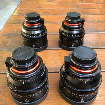 Rent Rokinon Xeen Cine EF Lens Set