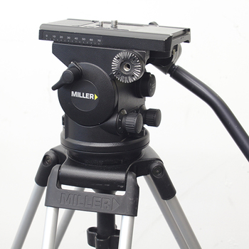 Rent Miller Arrow 40 Fluid Head with Sprinter II 2 Stage Sticks