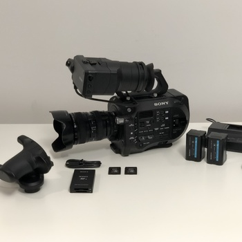 Rent Sony Fs7 Kit, cards, lens etc