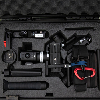 Rent DJI Ronin S Kit  w/ Focus Motor, Control Unit, Monitor Mount, and Strap