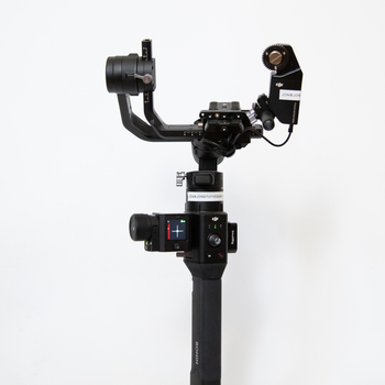 Rent DJI Ronin S Kit  w/ Focus Motor, Control Unit, Monitor Mount, and Strap