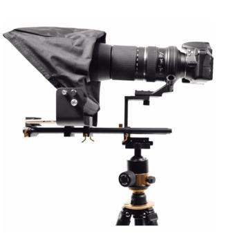 Rent Glide Gear TMP 500 Video Camera Tripod & Shoulder Mount Teleprompter