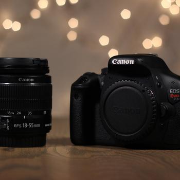 Rent Canon Rebel T3i + 18-55mm Kit Zoom Lens