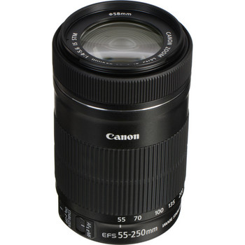 Rent Canon EFS 55-250mm f/4-5.6 IS STM