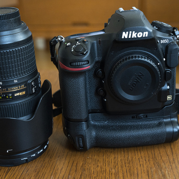 Rent Nikon D850 with 24-70 mm 2.8 Lens, Grip, Strap and SD cards