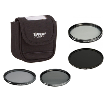 Rent Tiffen 77mm ND + Polarizer Kit (ND 0.3 + 0.6 + 0.9)