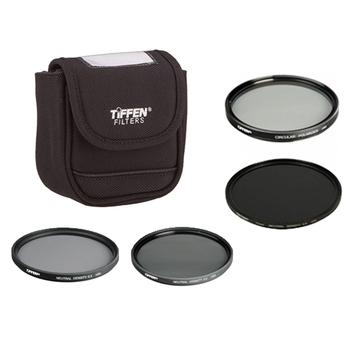 Rent Tiffen 77mm ND + Polarizer Kit (ND 0.3 + 0.6 + 0.9)