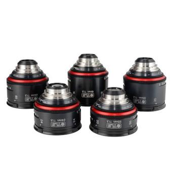 Rent Canon K-35 Super Speed Vintage Prime Lens Set 18,24,35,50,85mm