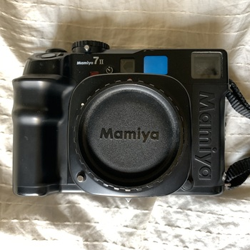 Rent Mamiya 7II medium format rangefinder Kit - 65mm, 80mm, 150mm lenses