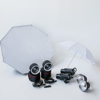 Rent Continuous LED Video Light, 2-Light Kit, Godox SL-60W Bowens mount with modifiers