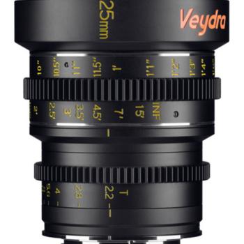 Rent Veydra 25mm Cine lens