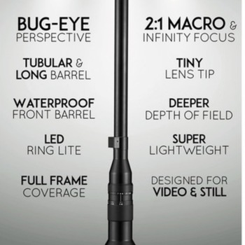 Rent Venus Optics Laowa 24mm f/14 Probe Lens for Sony E