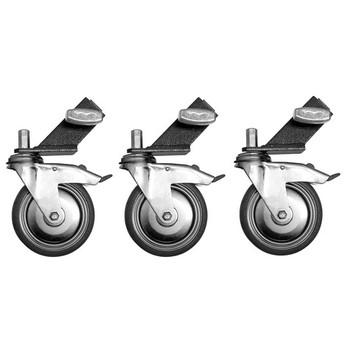 "Rent Combo Wheels, 1"" Leg (Set Of 3)"