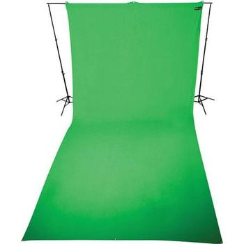 Rent Green (ChromaKey) Kit with 9 x 20' Background + frame (lights can be added - extra)