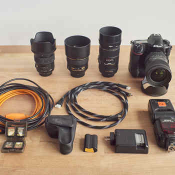 Rent Nikon D850 complete camera photo video kit
