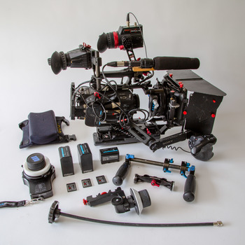 Rent Sony FS7 with complete rig including wireless follow focus
