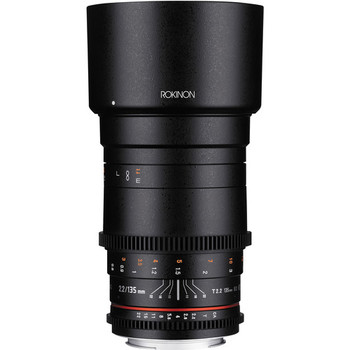 Rent Rokinon 135mm T2.2 cine DS Manual Lens - Canon EF Mount