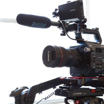Rent Sony PXW-FS7 Mark II with Metabones and Canon 24-70 Lens