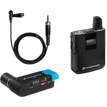 Rent Sennheiser AVX-ME2 SET Digital Camera-Mount Wireless Omni Lavalier Microphone System (1.9 GHz)