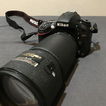 Rent Nikon D610  Full Frame DSLR w/ AF 70-200mm f/2.8D ED -- Like New