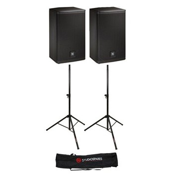 "Rent Electro-Voice ELX 112P PA/Speakers 12"" Woofers (pair)"