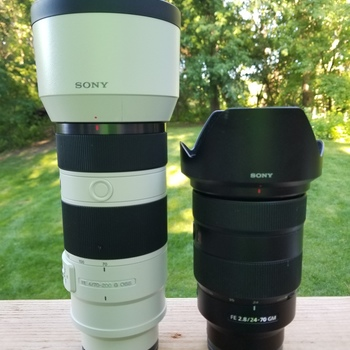 Rent Sony FE Mirrorless Lens Bundle