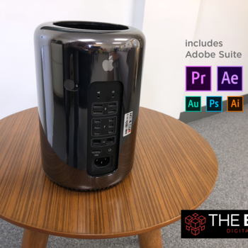 Rent Mac Pro | 12-Core | 64GB RAM with Adobe Premiere & Suite