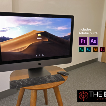 "Rent 27"" iMacPro 