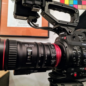 Rent Canon EOS C300 Mark II + Bag