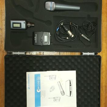 Rent Sennheiser ew100 G2 kit