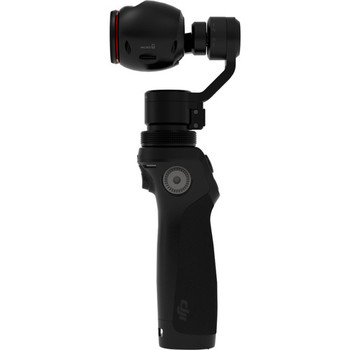 Rent DJI OSMO 4K Camera and 3-Axis Gimbal with small detachable microphone, 2 additional batteries, and phone holder