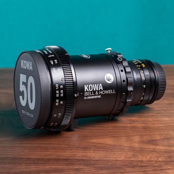 Rent Kowa 2x Anamorphic 50mm f2.0 EF Mount
