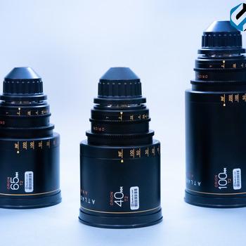 Rent Anamorphic Primes Orion Series Lens Set 40,65,100mm