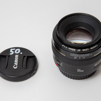 Rent Canon EF 50mm f/1.4 USM Photo Lens