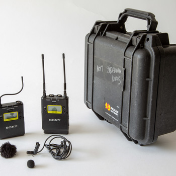 Rent Sony Wireless Lavalier Mic w/ TX/RX (UTX-B03 and URX-P03)