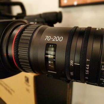 Rent Canon Zoom Lens CN-E 70-200mm T4.4 COMPACT-SERVO Cinema Zoom Lens (EF Mount)