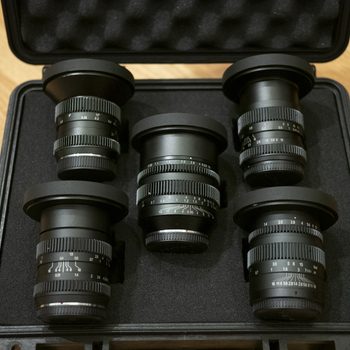 Rent SLR Magic MFT Cine Prime Kit (10mm, 17mm, 25mm, 35mm, 50mm)