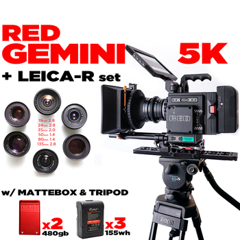 Rent RED GEMINI 5K Base Pkg +(6) LEICA-R SET